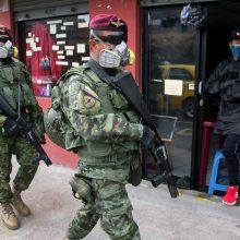 Ekvadore konfiskuota 1,3 t kokaino, skirto Estijai
