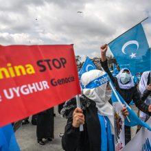Uigūrų atstovė Seime: ne mažiau kaip milijonas žmonių yra nelegaliai įkalinti