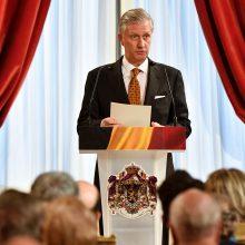 Belgijos karalius: pirmalaikių rinkimų šalyje nebus