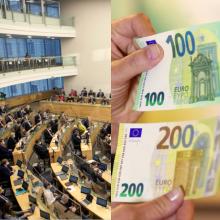 Seime – masinis algų kėlimas politikų padėjėjams