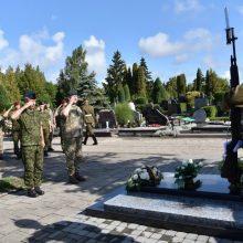 Pagerbti tarptautinėse operacijose žuvę Lietuvos kariai