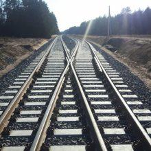 Švenčionių rajone atidaroma NATO technikai skirta geležinkelio atšaka