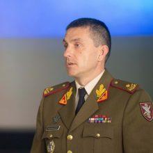 Lietuvos kariuomenės Gynybos štabui vadovaus M. Steponavičius