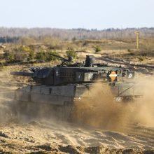 Įspėja: keliais judės karinė technika – prasideda NATO bataliono pratybos