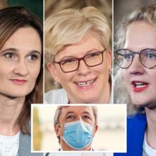 R. Karbauskis: moterys, kurios vadovauja Lietuvai, viena kitai nuolat prieštarauja
