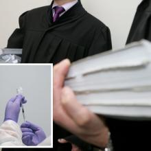 Neskiepytiems advokatams leista atsisakyti dirbti nesaugioje aplinkoje
