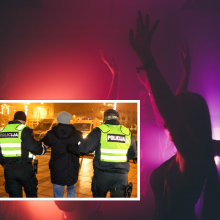 Karantino nebepaiso: minia studentų Vilniuje šėlo vakarėlyje, įsikišo policija