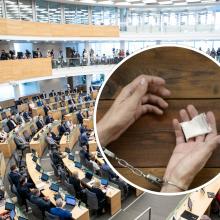 Seimo posėdyje – diskusijos dėl narkotikų: parlamentarų pozicijos kardinaliai išsiskiria