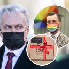 T. V. Raskevičius: prezidentas patologiškai vengia susitikti su homoseksualiu politiku