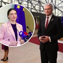 R. Morkūnaitė-Mikulėnienė: prezidentas dėl migrantų EVT buvo pernelyg santūrus