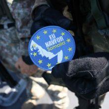Klaipėdoje bus sutikti iš misijos prie Somalio krantų grįžę kariai