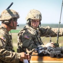 Lietuvos žiniasklaidoje bandyta išplatinti melagingą žinią, susijusią su JAV kariais