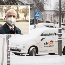 """Aplinkos ministras palaiko """"CityBee"""": nuo hakerių niekas neapsaugotas"""