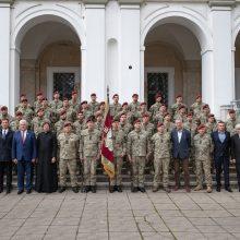 Į misiją Malyje išlydėta aštunta Lietuvos karių pamaina