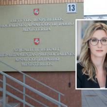 Socialinės apsaugos ir darbo viceministre tapo J. Jakštienė