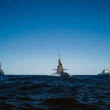 Į Klaipėdos uostą atplaukia Vokietijos karinis povandeninis laivas