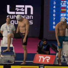 Europos čempionate lietuviai strigo atrankiniuose plaukimuose