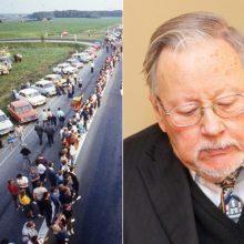 V. Landsbergis apie Baltijos kelią: nepražudykime to, kas padaryta