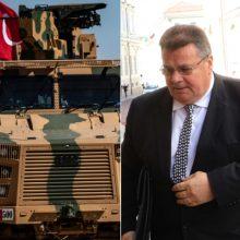 """L. Linkevičius: Turkijos veiksmai Sirijoje gali pakenkti kovai su """"Islamo valstybe"""""""