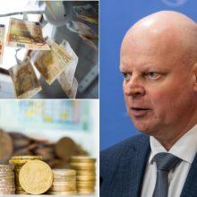 """Biudžeto pinigų dalybos įplieskė pykčius: """"valstiečiai"""" nepatenkinti premjeru"""
