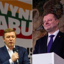 S. Skvernelis: R. Karbauskis turėtų pasitikrinti pasitikėjimą partijoje