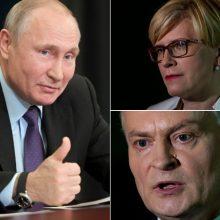 Žmonės mano, kad naujasis prezidentas turėtų susitikti su V. Putinu