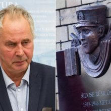 Istorikas: skandalas dėl lentos J. Noreikai – tik tyla prieš audrą