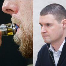 M. Majauskas siūlo uždrausti aromatizuotas elektronines cigaretes