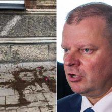 S. Skvernelis: Lietuva netoleruos nesantaikos kurstytojų ir vandalų
