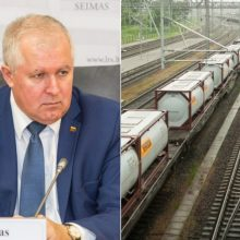 """Prašo vertinti grėsmes dėl Rusijos įtakos """"Lietuvos geležinkeliams"""""""