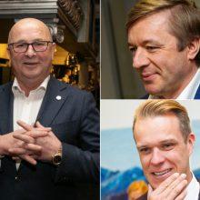Turtingiausių politikų penketuke – V. Matijošaitis, R. Karbauskis ir G. Landsbergis