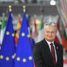 """G. Nausėda: ES lyderiai patvirtins """"Brexito"""" sutartį"""
