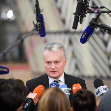 G. Nausėda žada reikalauti didesnės ES kompensacijos dėl lietuvių emigracijos