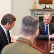R. Karoblis: JAV kariai lieka Lietuvoje, atvyksta ir 200 Prancūzijos karių