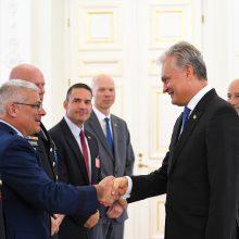 G. Nausėda: JAV realiai dalyvauja Lietuvos gynyboje