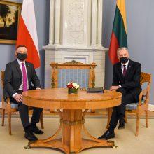 G. Nausėda su Lenkijos prezidentu aptars situaciją Ukrainoje