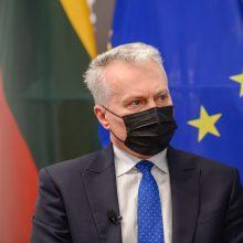 G. Nausėda: visi klausimai EVT yra užsienio politikos klausimai