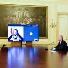 Prezidentas S. Cichanouskajai: padėti Baltarusijai – mūsų moralinė pareiga