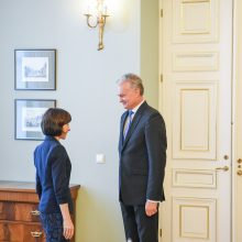 G. Nausėda kvietė Moldovą tęsti eurointegracijos procesą ir reformas