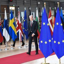"""G. Nausėda: nepaisant """"Brexito"""" susitarimo, visi galvoja apie planą B"""