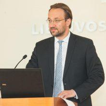 Kandidatas į LB vadovus G. Šimkus: konkurencijos didinimas yra tikras iššūkis