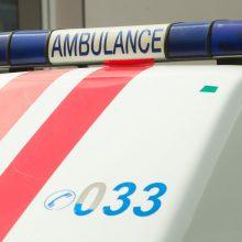Pasvalio rajone susidūrus automobiliams nukentėjo du žmonės