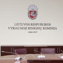 VRK baigia registruoti dalyvius trijų Seimo narių rinkimuose