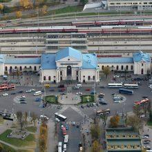 Paaiškėjo, kas rengs konkursą dėl Vilniaus stoties teritorijos atnaujinimo