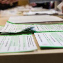 Seime pritarta siūlymui užverti rinkimų duomenis