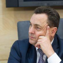 P. Gražulis tikisi, kad Seimas nepanaikins jo teisinės neliečiamybės