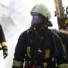 Pakruojyje užsiliepsnojus lovai gaisre žuvo moteris