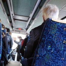 Sugriežtinus karantiną vežėjai atsisakė beveik pusės autobusų reisų
