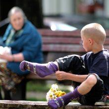 Pagal vaikų gerovės rodiklius Lietuva užima 33-ą vietą iš 38-ų šalių