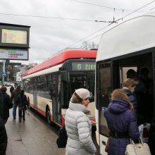 Vilnius pristato viešojo transporto dešimtmečio atsinaujinimo planus